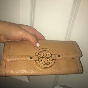 Tory Burch Tan Wallet